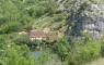 Moulin de Cougnaguet depuis la falaise