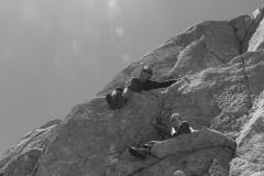 Jolis rochers dans le Marcadau
