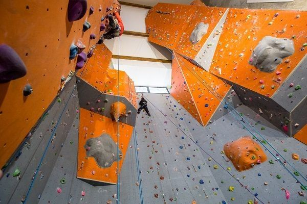 Test de la salle d'escalade de Gèdre